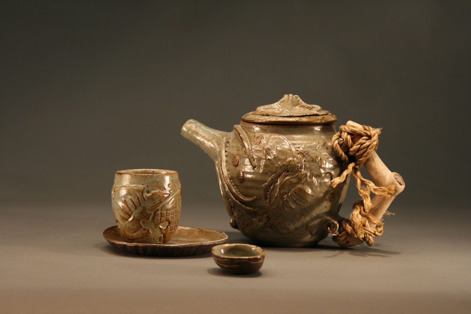 West Fork Studio Octopus Garden Tea Set By Mimi Booth