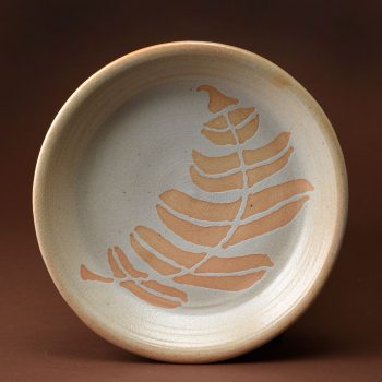 West Fork Studio Fern Plate By Mimi Booth